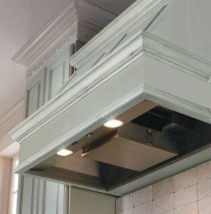 Vent-A-Hood KH28SLD SS 28 3/8 250 CFM Stainless Wall Mount Liner - Vent Hood Liner