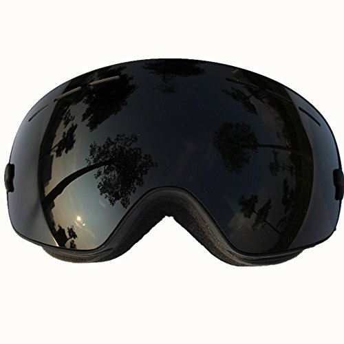 Mens Wide Snowboards (Snow Goggles, COPOZZ Ski Goggles with Spherical Wide Vision Anti-fog Detachable Double Lens TPU Frame For Men And Women Snowboard skate Skiing Snowboarding outdoor)
