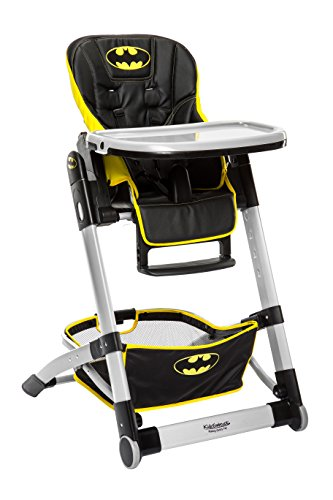 (KidsEmbrace Adjustable Folding High Chair, DC Comics Batman)