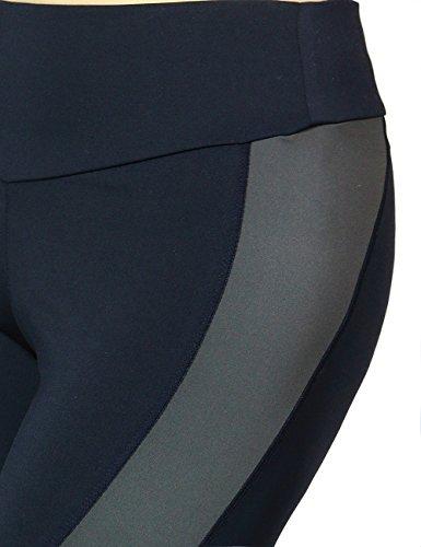 Women's Activewear Running Yoga Sports Gym Fitness Bottom Pants Collection (MEDIUM, BLACK-9009)