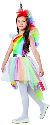 Rainbow Unicorn Dress Up Costume, Small (4-6)]()