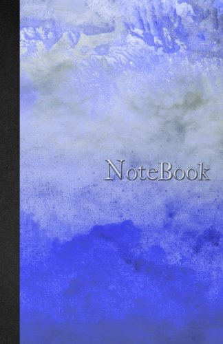 Read Online Notebook: 5.5 x 8.5 - Ruled - Lined - 110 pages - Watercolor and Marble - Blue - Notebook - 110 pages - soft cover glossy finish - journal, planner, organizer, agenda pdf epub