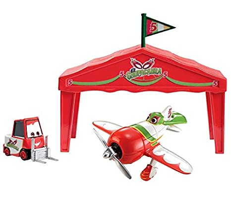 Disney Pixar Planes Dusty Crophopper Pit Row Gift Pack Mattel Y5736