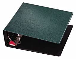 Cardinal Prestige Locking Slant-D Ring Binder, 4-Inch, Evergreen (18054V2)