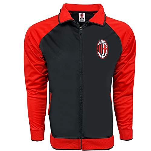 (AC Milan Classic Track Jacket (L))