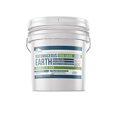 Diatomaceous Earth (3.5 Gallon) by Earthborn Elements, Resealable Bucket, Highest Quality, FCC...