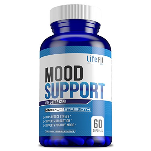 Mood Builder - Premium Mood Support Supplement | Superior Efficiency Natural Stress Relief | Vegan Dietary Herbal Calming Capsules for Men & Women | Boosts Relaxation & Overall Well being by LifeFit Labs (Image #2)