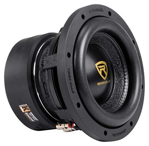 Rockville W8K9D2 8″ Inch 2000w Car Audio Subwoofer Dual 2-Ohm Sub CEA Compliant