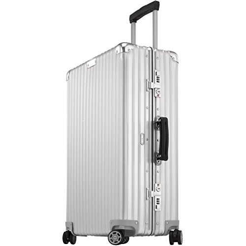 Rimowa Classic Flight IATA Luggage 32″ inch Cabin Multiwheel Silver White