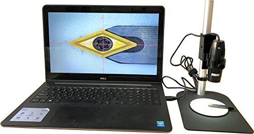 Igaging digital measuring microscope adjustable 10x 200x usb