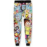 Autumn Fashion Unisex Joggers Pants Cartoon 3D Print Casaul Loose Sweatpants