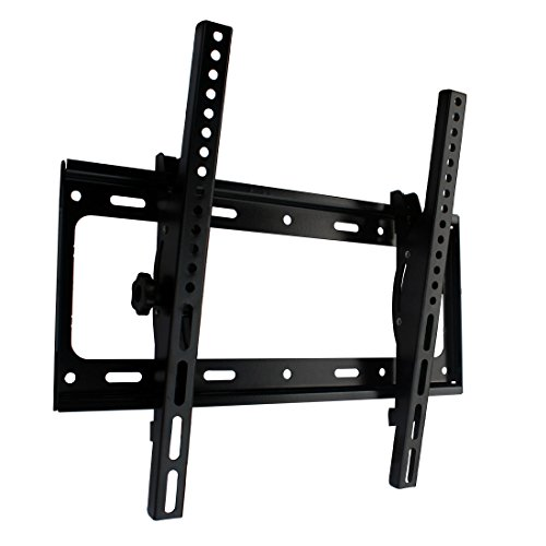 (Orienttvbracket TV Wall Mount Tilting Bracket for most 26-55 Inch LED LCD OLED Plasma Flat Screen Panel with VESA up to 400x400mm and 100 lbs Loading Capacity)