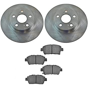 Front Disc Brake Rotor LH RH Kit Pair Set of 2 for Infiniti Truck SUV New