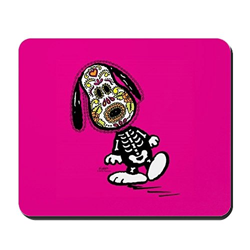 [CafePress - Day Of The Dog Snoopy - Non-slip Rubber Mousepad, Gaming Mouse Pad] (Cute Halloween Gifts For Coworkers)