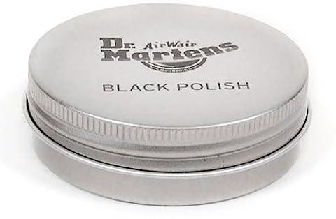 Dr. Martens Unisex Black Leather Shoe Polish,Black,One Size - Unisex Black Leather