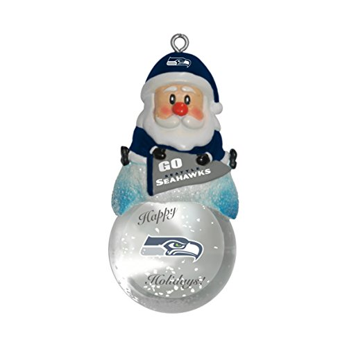 NFL Seattle Seahawks Snow Globe