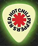 Printed Picks Company Red Hot Chili Peppers RHCP 5 X Glow In The Dark Premium Guitar Picks