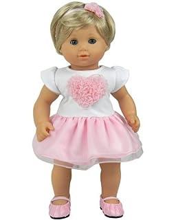 Amazon.com: 15 Inch Baby Doll Pajamas by Sophia's, Fits American ...