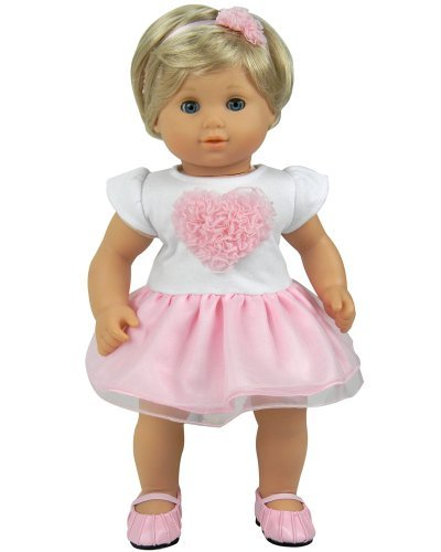 Amazon Com 15 Inch Baby Doll Clothes 2 Pc Set By Sophia S