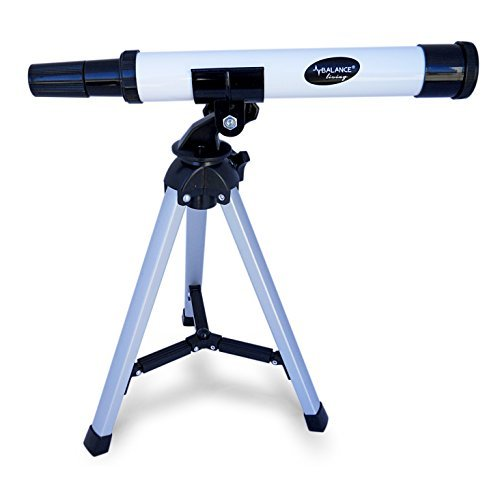Balance Living Mini telescope (30X) + Tripod (9.5″) , Aluminum Main Body