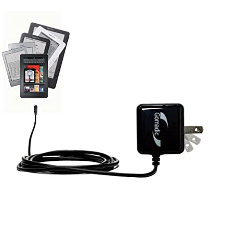 Rapid Wall Home AC Charger for the Amazon Kindle all models including the Fire HD HDX DX / Touch / Keyboard (WiFi and (Fast Charger Kindle Fire)