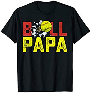 ⭐️⭐️⭐️ Ball Papa Softball Baseball T Funny Player Men Women Need Funny Short/Long Sleeve Shirt/Hoodie