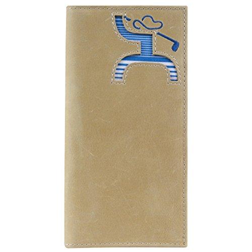 Hooey Men's Hooey Golf Striped Rodeo Wallet Beige/Khaki NoSz (Striped Wallet Bi Fold)