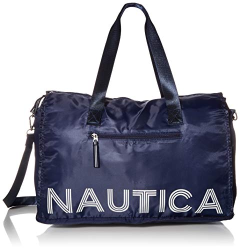 Nautica New Tack Packable Weekender, Indigo