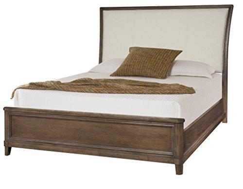 American Drew Park Studio King Upholstered Sleigh Bed in Light ()