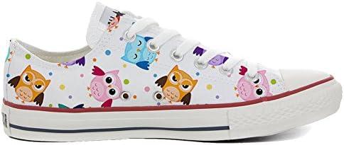 Sneaker Original Personalisierte Schuhe (Handwerk Produkt) Tiny Owls