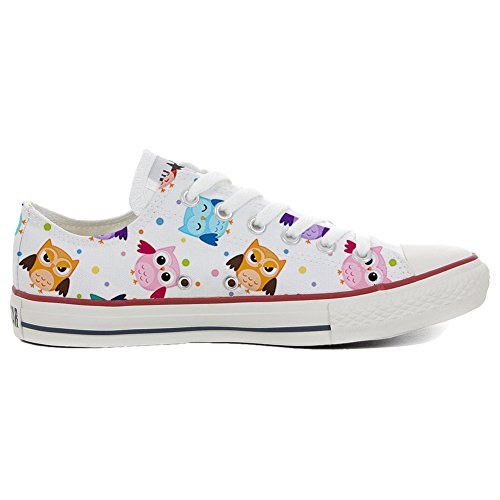 Handwerk Converse Personalisierte Produkt Owls Star Tiny Schuhe All Customized XqAwHX