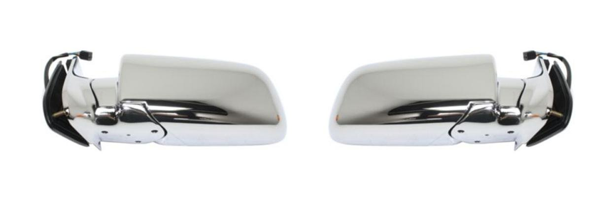 Right side Wing door mirror glass for Chevrolet Tahoe 1995-1999 heated