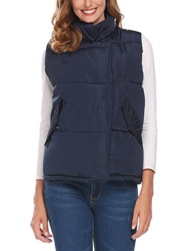 Quilted Down Vest Jacket - 6