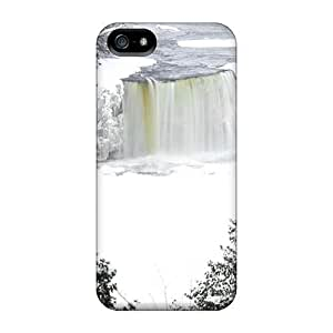 diy zheng5/ Scratch-proof Protection Case Cover For Iphone/ Hot Frozen Niagara Falls Phone Case