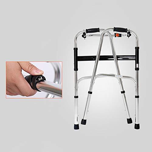 YSDHE Andador de Aluminio Ligero y Plegable para Caminar: Altura ...