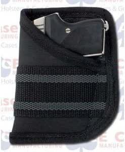 Pocket Holster Fits Seecamp 32 ACP Shoot Thru brown leather NO Laser