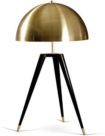 HNZZN lámparas de mesa de bronce para dormitorio lámparas de ...