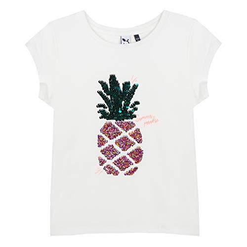 Roto Camiseta Chica Manzanas 19 3 Blanco Blanco gXXFrBxwq