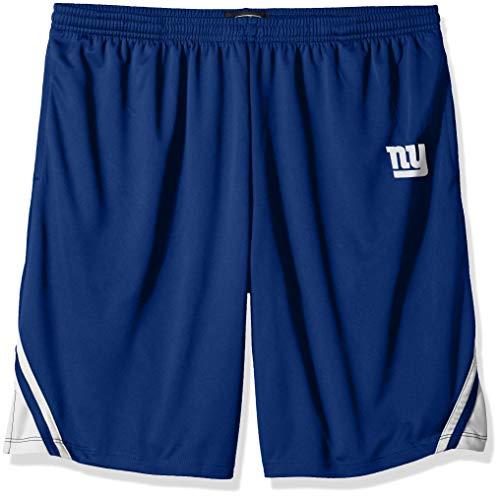 - OTS NFL New York Giants Male NFL Poly Dot Athletic Short, Royal, Large