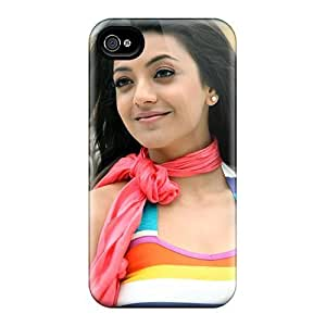 For Iphone 4/4s Premium Tpu Case Cover Kajal Agarwal South Actress Protective Case