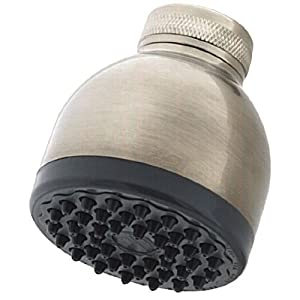 Pfister Portland Bell Showerhead, Brushed Nickel