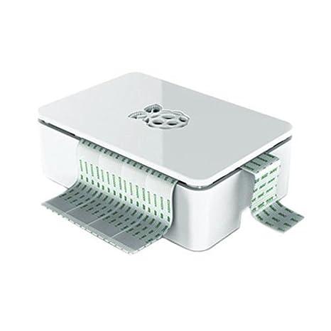ROUHO Nueva Carcasa De Caja Premium Blanca para Raspberry Pi ...