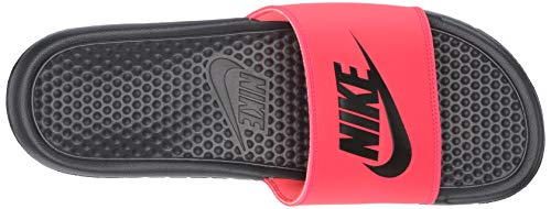 Nike Men's Benassi Just Do It Athletic Sandal, red orbit/black - anthracite, 8 Regular US by Nike (Image #9)