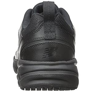 New Balance Men's MID626v2 Work Training Shoe, Black, 13 4E US