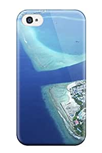 KristineWilliamsshop 2109965K92453441 Ultra Slim Fit Hard AnnaSanders Case Cover Specially Made For Iphone 4/4s- Maldives Holidays