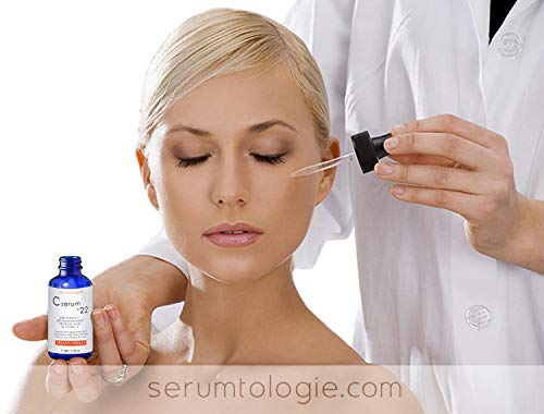 41vSwDkdcWL - Vitamin C serum 22 by serumtologie Anti Aging - 1.15 oz