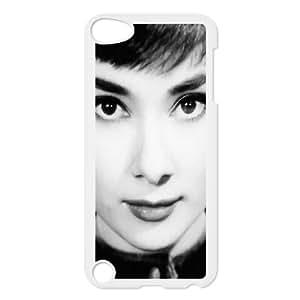 DIYCASETORE Phone Case Audrey Hepburn Bumper Plastic Customized Case For Ipod Touch 5