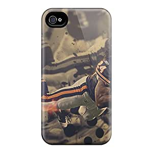 Scratch Protection Hard Phone Covers For Iphone 6plus With Unique Design Vivid Chicago Bears Series CassidyMunro