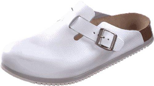 Birkenstock Women´s Boston White Leather Sandals 38 EU (M5/L7) N 060136 -