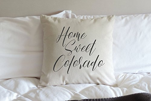 Tina-R Home Sweet Home Pillow Home Sweet Home State for sale  Delivered anywhere in Canada